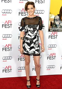 Kristen Stewart rocked a Chanel minidress at the AFI Fest 2014 screening of Still Alice.