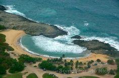 Playa Mar Chiquita en Manatí, Puerto Rico