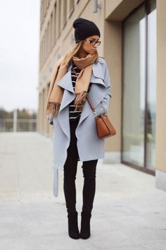 blue trench coat, Classic trench coat in all seasons http://www.justtrendygirls.com/classic-trench-coat-in-all-seasons/