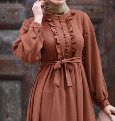 Modest Fashion Hijab, Abaya Fashion, Fashion Dresses, Hijab Dress Party, Muslim Women Fashion, Sleeves Designs For Dresses, Batik Fashion, Girl Dress Patterns, Modest Wear