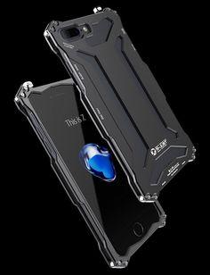 5e31107b649 New Futuristic Style Luxury Space Aluminium Super Thin Full Armor Case For  Apple iPhone 7   7 Plus
