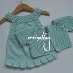 Layette Pattern, Romper Pattern, Baby Girl Patterns, Baby Knitting Patterns, Knitting Blogs, Knitting For Kids, Crochet Baby, Knit Crochet, Suspenders For Kids