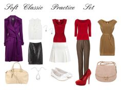 """""""Soft Classic Practice Set"""" by julializz ❤ liked on Polyvore featuring A Détacher, Bardot, Salvatore Ferragamo, Chloé, Coast, Dorothy Perkins, Soaked in Luxury, Kelsi Dagger Brooklyn, Accessorize and Nicoli"""