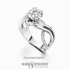 """One of our top 5 most popular engagement ring styles the unmatched """"Enchantment""""…"""
