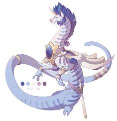 Dragon-A-Day 074 by Mythka on DeviantArt