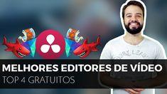 🔴Qual melhor EDITOR DE VÍDEO GRÁTIS PARA PC?? | #4 opções porretas!
