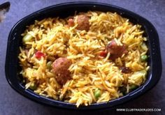 It wouldn't be hard to be a #vegan or #vegetarian if I could eat this Trader Joe's Vegetable Biryani every day! #traderjoes