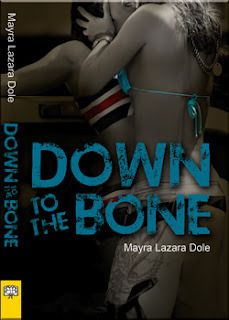 Down to the Bone by Mayra Lazara Dole, recommended for grades 9 and up. A high-achieving high school student is outed and deals with the reactions and backlash.