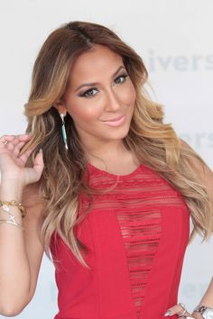 Adrienne Bailon | ADRIENNE BAILON at NBC Universal Summer Press Day in Pasadena
