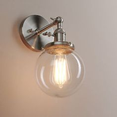 5-9-034-DECOR-VINTAGE-INDUSTRIAL-WALL-LAMP-SCONCE-GLOBE-GLASS-SHADE-LOFT-WALL-LIGHT