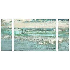 """Hidden Shades 3-Piece 60"""" Wide Triptych Wall Art"""