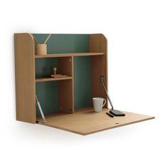 Desks Home & Furniture Desks For Small Spaces, Small Home Offices, Home Furnishing Accessories, Home Furnishings, Fold Away Desk, Hidden Desk, Home Office Table, Pallet Desk, Drawing Desk