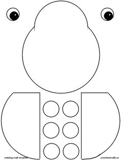 Ladybug Crafts Idea for Kids - Preschool Crafts