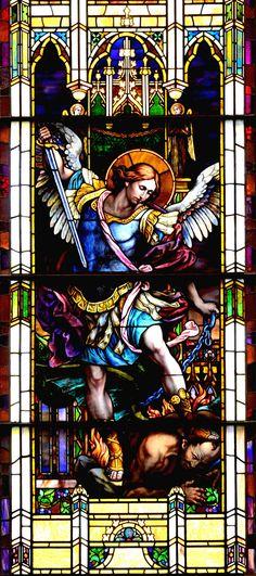 https://flic.kr/p/ax7J5u | Archangel Saint Michael - Saint Michel Archange | Located at the magnificent St-Patrick Basilica, Montreal.
