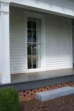 Front Porch On Pinterest Painted Wood Floors Rocking