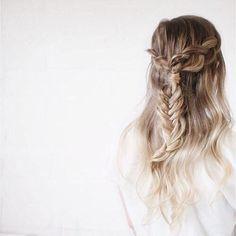 Gorgeous ombre braid.