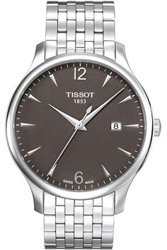 Luxurious Tissot Gents Tradition Bracelet Watch T063.610.11.067.00 Various | Tissot Watch Problems