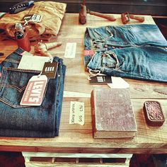 Levi's Vintage Clothing makes its South Africa debut! From the showcase at Unknown Union in Cape Town.