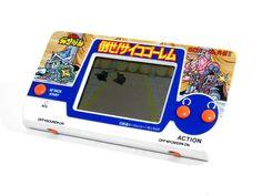 Bandai LCD Handheld Game Pocket Club P-1 SD Gundam VS Psycho Golem Japan #Bandai