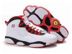 Nike Air Jordan XIII 13 Chaussures Hommes Blanc Noir