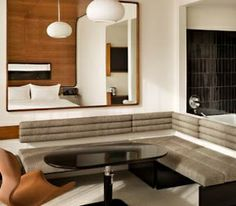 An Andre Balazs hotel suite
