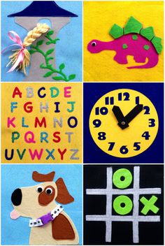 Children's Quiet Busy Book 10 Pages by QuietTimeDesigns on Etsy