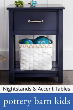 Nightstands & Accent Tables