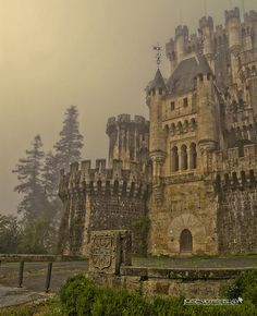 Medieval, Castillo de Butrón, Vizcaya, Spain photo by jose