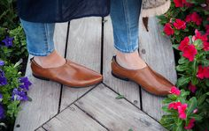 Brown Leather Shoes Women Leather Oxfords Brown by KatzAndBirds