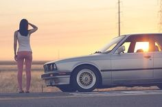 This Girls just Love 🧣 Bmw Love, Love Car, Bmw E30 M, Bmw Girl, Bavarian Motor Works, Car Tuning, Car Girls, Hot Cars, Subaru