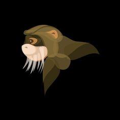 Fluid Animals: Monkey || Ben the Illustrator || http://bentheillustrator.prosite.com