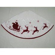 Ty Pennington Style Home Sweet Holiday Tree Skirt 48'' Velvet- White by Ty Pennington, http://www.amazon.com/dp/B00A6RC5SW/ref=cm_sw_r_pi_dp_jwK1rb13J139W