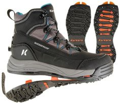 Korkers, Verglas Ridge Snow Boots in Black, $180 via REI