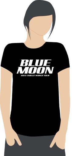 BLUE MOON - 2013 CNBLUE WORLD TOUR Rp. 150.000 per pc. (termasuk ongkir JKT, BKS, TNG, DPK) Bahan cotton 100% combed 20S. Nyaman dipakai. Berminat? Email: tshirtneil@gmail.com WhatsApp: 081280060069