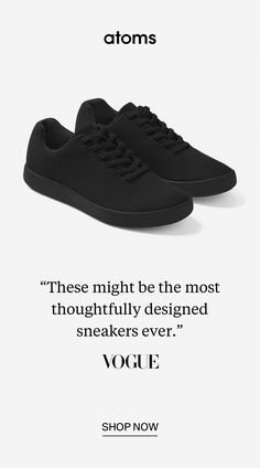 Atoms made big changes to all the little things. Quarter sizes deliver a perfect fit. Stretch laces only have to be tied once. Lightweight materials offer cloud-like cushioning. Copper linings kill bacteria and prevent odor. Crazy Shoes, New Shoes, Vans Shoes, Cute Shoes, Me Too Shoes, Skate, Shoes For School, Fashion Shoes, Mens Fashion