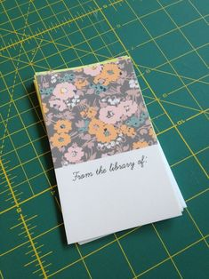 How to make bookplates