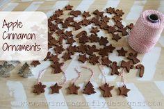 How to make apple cinnamon ornaments
