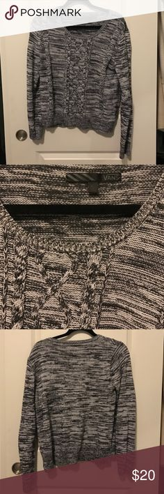 Grey Vans Cable Knit Sweater Grey Vans Cable Knit Sweater Vans Sweaters