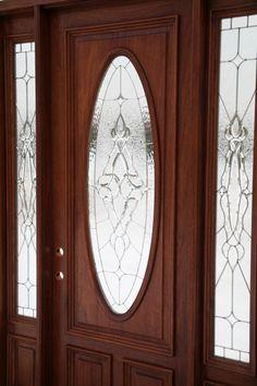 Therma Tru Classic Craft Mahogany Collection Fiberglass