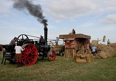 Threshing Machine | Ransomes Threshing Machine | Flickr - Photo Sharing!