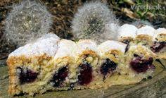 Točený višňovo-makový koláč (fotorecept) - Recept