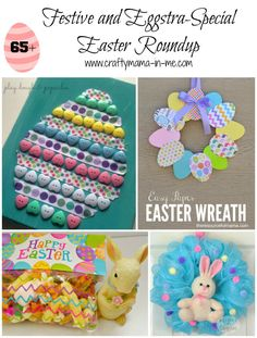Festive and Eggstra-Special Easter Roundup - Crafty Mama in ME!