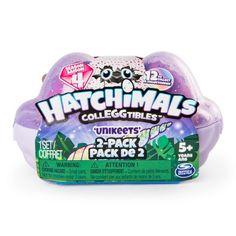 Hatchimals à Collectionner 6043953 Pack de 2 Figurines Saison 4 Modèles