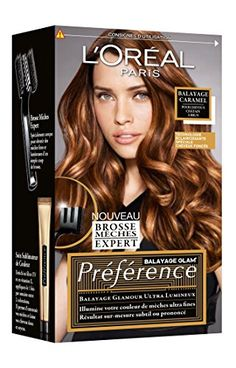 prfrence loral paris kit mches et balayage pour cheveux chtains bruns caramel prfrence - Coloration Chatain Caramel