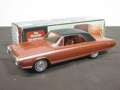 Chrysler turbine car | 1964 Chrysler Turbine Car in Black/Turbine Bronze Met.