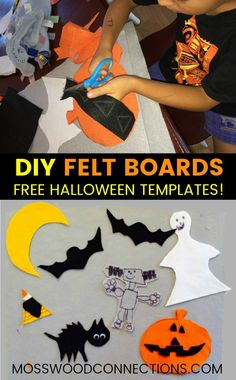 DIY Felt Boards With Free Templates