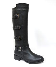 Look at this #zulilyfind! Bonnibel Black Hans Boot by Bonnibel #zulilyfinds