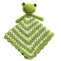 Kurbağalı Uyku Arkadaşı Battaniye Yapımı