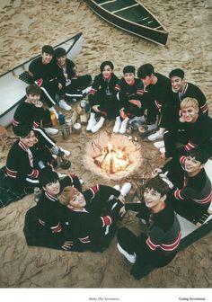 "Going Seventeen ""Make the Seventeen"" photobook <3"