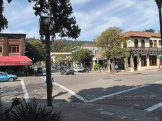 Downtown Mill Valley California - Marin County